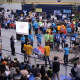 FIRST®, an international youth organization that promotes science, technology and engineering, will be hosting a robotics competition, such as this one, at Rockland Community College in March.