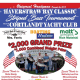 The fifth annual Haverstraw Bay Classic, a prize-winning striped bass tournament, is April 27, 28 and 29 at Cortlandt Yacht Club.