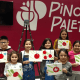 A Pinot's Palette event organized by Stamford resident Grace Targonsk.