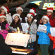 The Columbus Troubadors helped usher in the holiday season on Friday by performing Christmas and Hannukah classics during the annual tree lighting ceremony at Mount Pleasant Town Hall.