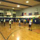 Week 5 recruits at the Lodi Junior Police Academy muster in the gym.