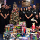 "Samuel Pinguelo, Matthew Miller, Joseph Miller, Nicole Pinho, Nicole Wartel, Brandon Engracia, Branden Lauer, Christopher Imbrenda and Joshua Lopez participated in NAVES' ""giving tree"" event this year."