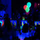 Painting is one of the four themed glow parties offered at Acting Up.