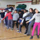 Richard J. Bailey School students dance with the Dance Theatre of Harlem.