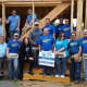 Samsung employees recently volunteered at Habitat For Humanity's Bergenfield site.