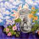 """Sarah Almeda won a county-wide art contest with """"Bottled."""""""