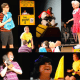 """Cast in scenes of """"You're A Good Man, Charlie Brown,"""" production at Darien Arts Center Stage."""