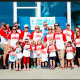 Robert Julius, CEO of Nice-Pak and local resident, posing with team OMG at a recent FARE Walk. Julius and his family have been active members of the food allergy community.