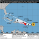 Projected path of Hurricane Irma as of Monday afternoon, Sept. 4.