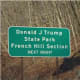A local lawmaker has suggested changing the name of Donald J. Trump State Park.