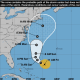 An updated projected path for Jose shows it picking up strength over the weekend and heading up the East Coast toward Connecticut.