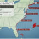 Even if Maria takes the most likely path just offshore of the East Coast, surf and rip currents will increase from south to north along the Atlantic Seaboard this weekend through next week.