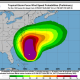 A look at tropical storm force wind speed probabilities from Hurricane Maria.