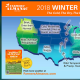 Farmers' Almanac winter weather outlook for 2018.