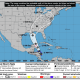 The latest projected path of Tropical Storm Nate from the National Hurricane Center.