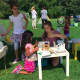 3Dux/Design has been showing its architectural kits to kids at farmers markets throughout Fairfield County.