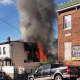 A fire broke out in New Rochelle on Tuesday morning.