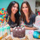 Hilary Assael, left, with her twin sister, Elissa Weinhoff, of Sugar Hi in Armonk.