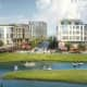 "The proposed ""Pratt Landing"" at Echo Bay in New Rochelle. The new City Yard will open the waterfront to redevelopment."