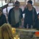 Four suspects — three white women and one white man — stole $17,000 worth of jewelry from Campus Jewelers in Wilton Center on Thursday. The suspects are shown in a surveillance camera photo.