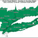 A Flash Flood Watch is in effect for the entire tristate area.