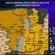 A High Wind Warning has been issued for areas east of the Taconic State Parkway in Dutchess.
