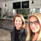 Dana Noorily, left and Julie Mountain, right, founders of The Granola Bar, in their new (not yet opened) Fairfield location.