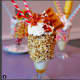 The Maple Bacon Waffle freak shake at Elm Street Diner in Stamford.