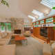 The home is inspired by Frank Lloyd Wright, one of the most famous mid-century architects.