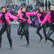 "Center Stage Dance Studio offered selections from ""Grease"" at the Stamford Downtown Parade Spectacular."