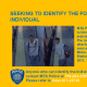 A flier from the MTA on the witness sought for questioning.