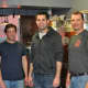 Left to right: Adam Letize, Shane Nunes and John Commander are the head brewers at Iron Brewing Company in South Norwalk.