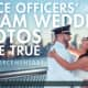 The Real Wedding Show helped two Garfield police officers complete their dream wedding photo shoot.