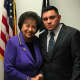 """U.S. Rep. Nita Lowey invited Hugo Alexander Acosta Mazariego of Pearl River, a successful and grateful """"Dreamer,"""" as her guest during President Trump's State of the Union address at which immigration was a talking point."""
