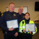 Greenwich Police Officers Cited For Capturing Bank Fraud Suspects
