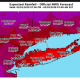 A look at projected rainfall amounts from the Nor'easter.