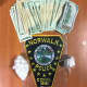 Cash and cocaine seized during a drug dealing arrest on Thursday by Norwalk police with assistance from Darien's K-9 unit.
