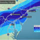 A look at the projected snowfall ranges by AccuWeather.com.