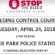 """Hyde Park Police are hosting free life-saving """"STOP the Bleed"""" training on April 24."""