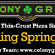 Known for its thin-crust pizza and hot oil bar pizza, Colony Grill is opening its first New York pizzeria around Memorial Day in Port Chester.