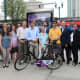 New Rochelle launched the county's first bike-sharing program.
