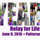 Patterson's 10th annual Relay for Life runs (walks) from 8 a.m. until midnight on Saturday, June 9.