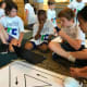 Mamaroneck elementary school youngsters participated in a first annual robotics competition this week.
