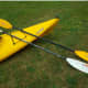 A look at the stolen kayak and paddles.