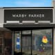 Warby Parker's newest storefront.