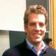 Tyler Winklevoss at a HackHarvard hacknight event at Harvard University where he knew future Facebook founder Mark Zuckerberg.
