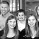Republican gubernatorial candidate David Stemerman with his wife, Joline, and their five children.