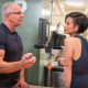 Pleasantville's Jessica Tom with Food Network's Chef Robert Irvine.