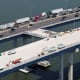 The second span of the Tappan Zee Bridge is scheduled to open next month.