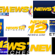 Various News 12 television network logos